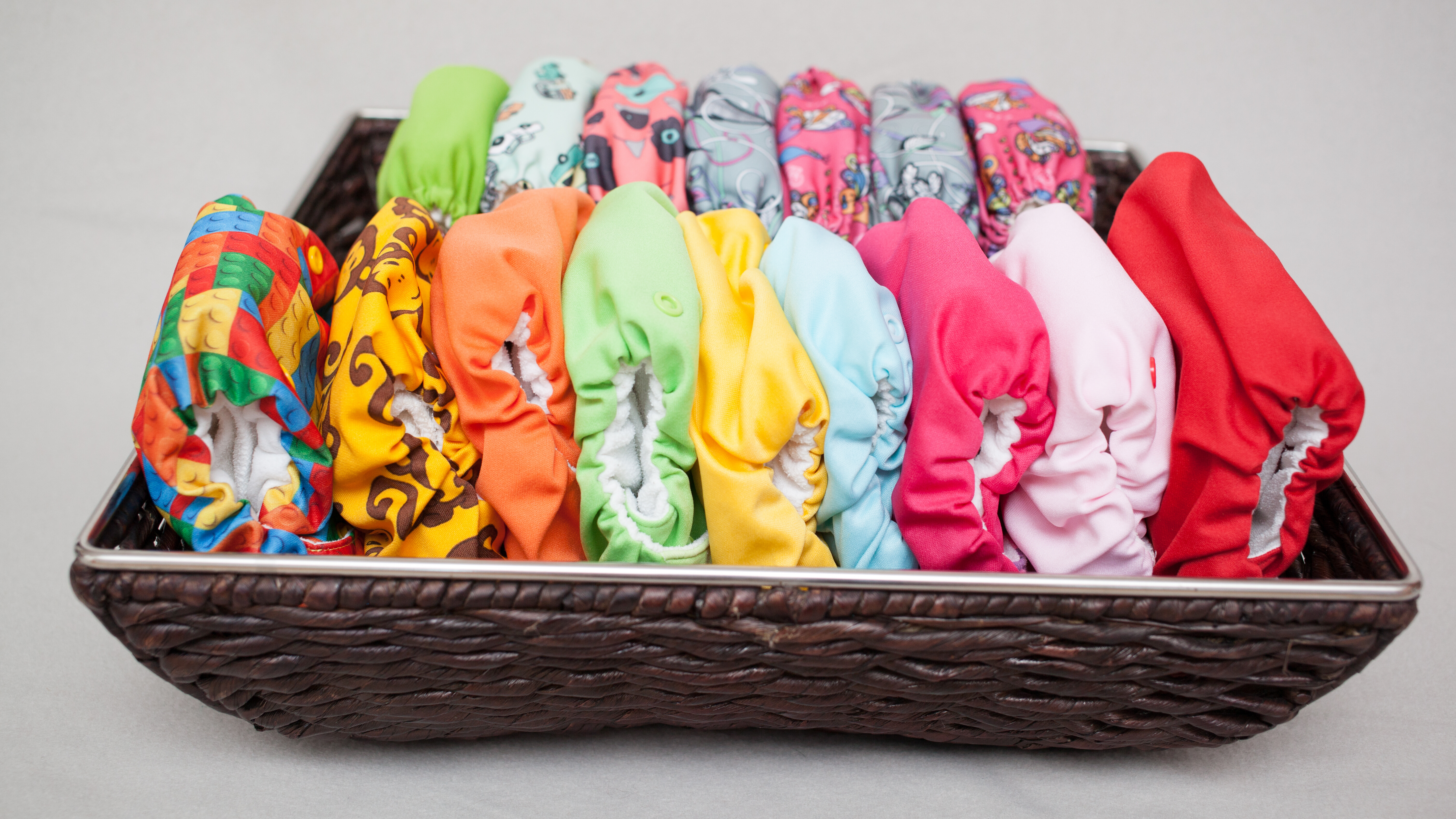 The different types of Cloth Diapers: How do I choose the right one?