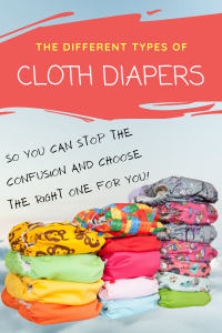 cloth diapers types