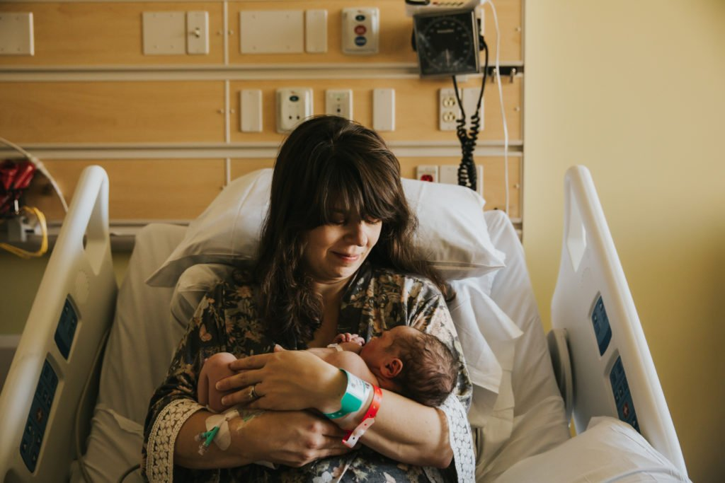 Kristina's Birth Story: a hospital birth with Hypnobabies