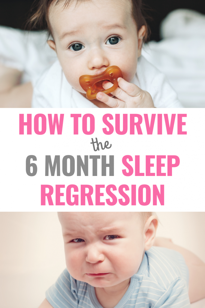 how to survive the 6 month sleep regression