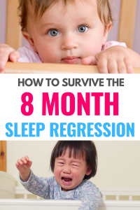 how to survive the 8 month sleep regression