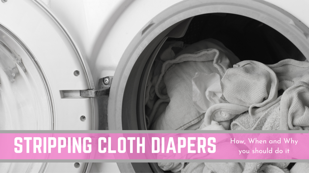 how to strip cloth diapers