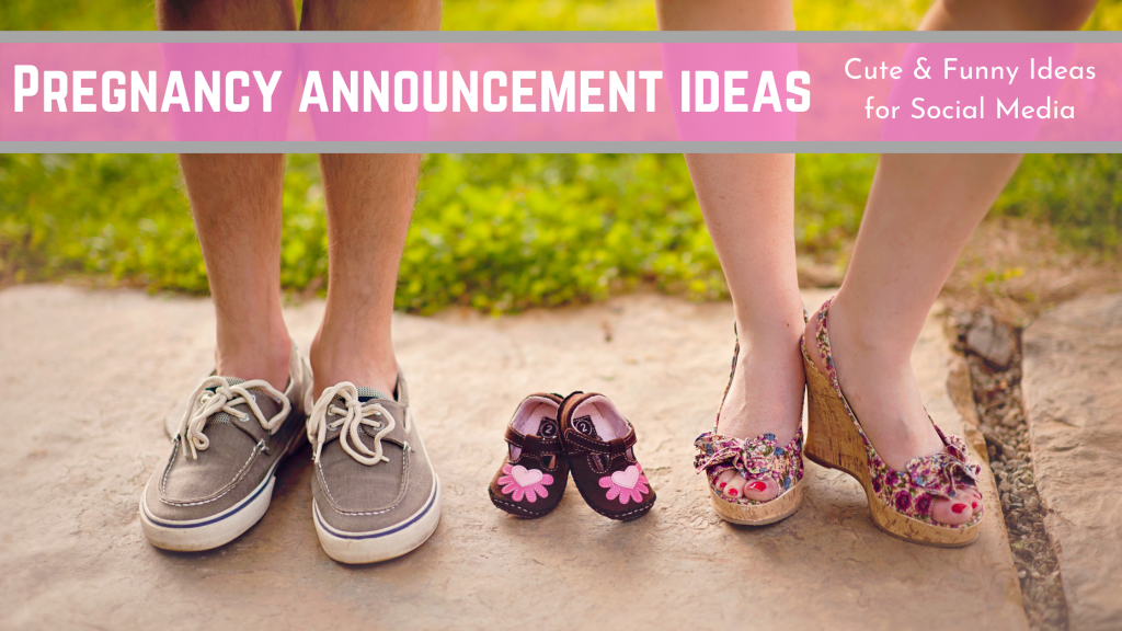 cute and funny pregnancy announcement ideas for social media