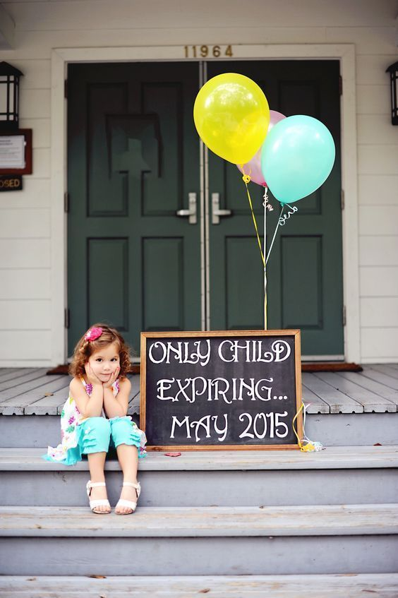 only child expiring pregnancy announcement