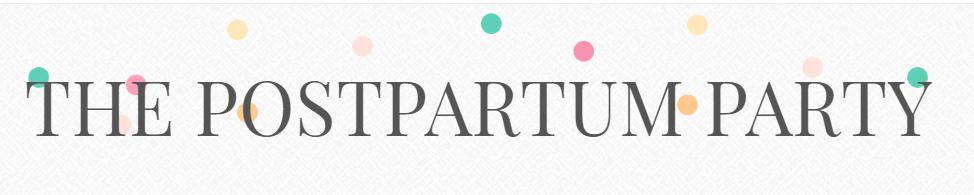 the postpartum party logo