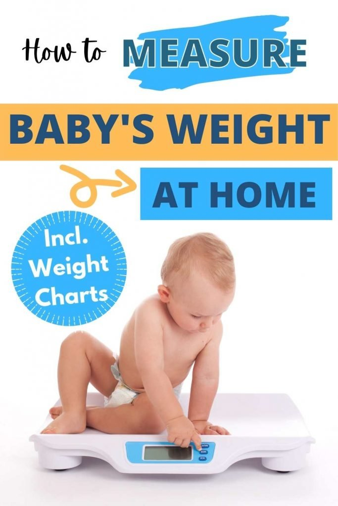 How to measure baby's weight at home