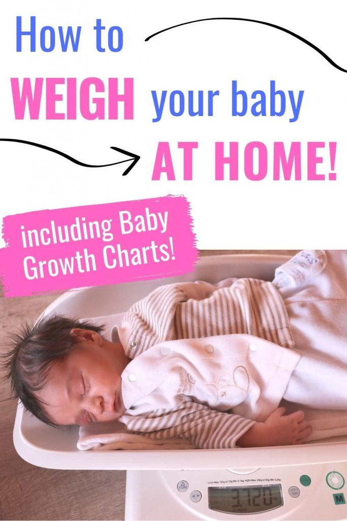 How to weight baby at home