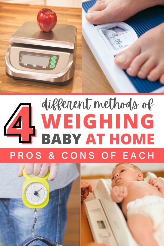 4 methods of weighing baby at home