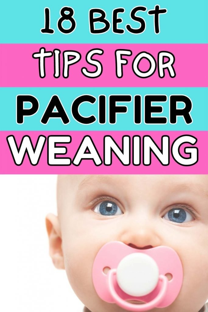 18 best tips for pacifier weaning