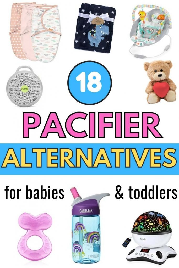 18 pacifier alternatives for babies & toddlers