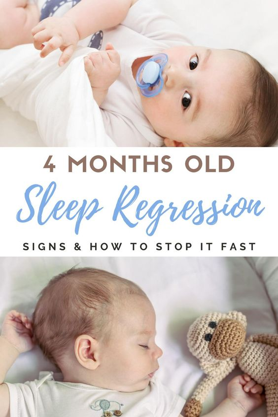 4 months old sleep regression: signs and how to stop it fast