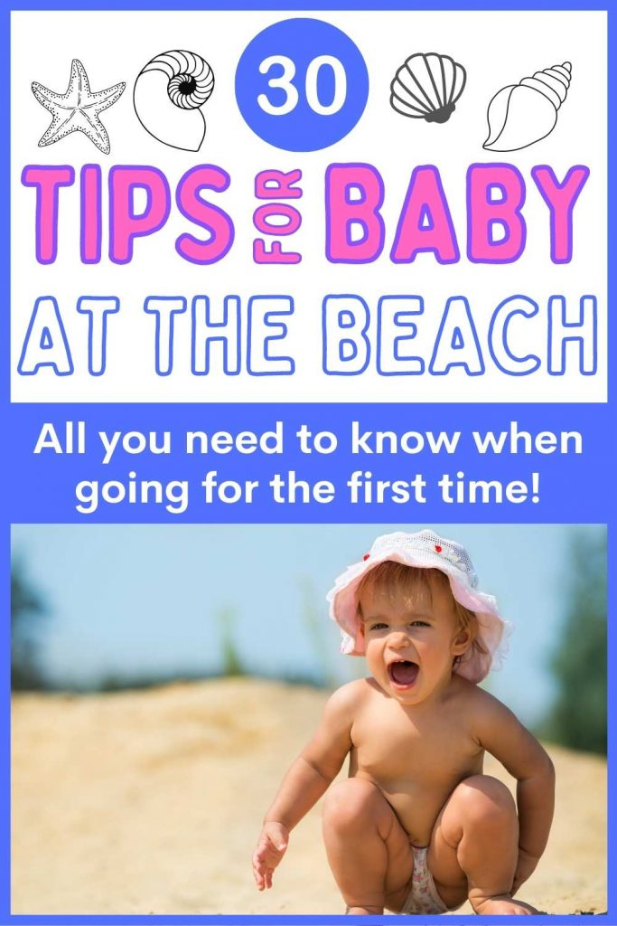 Tips for baby at the beach