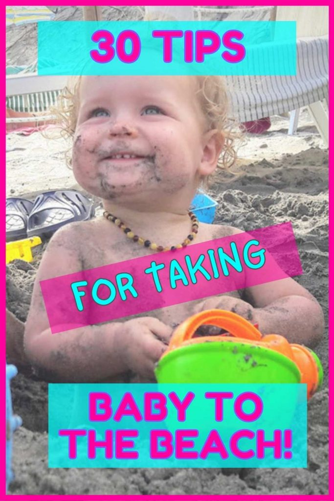 Tips for taking baby to the beach