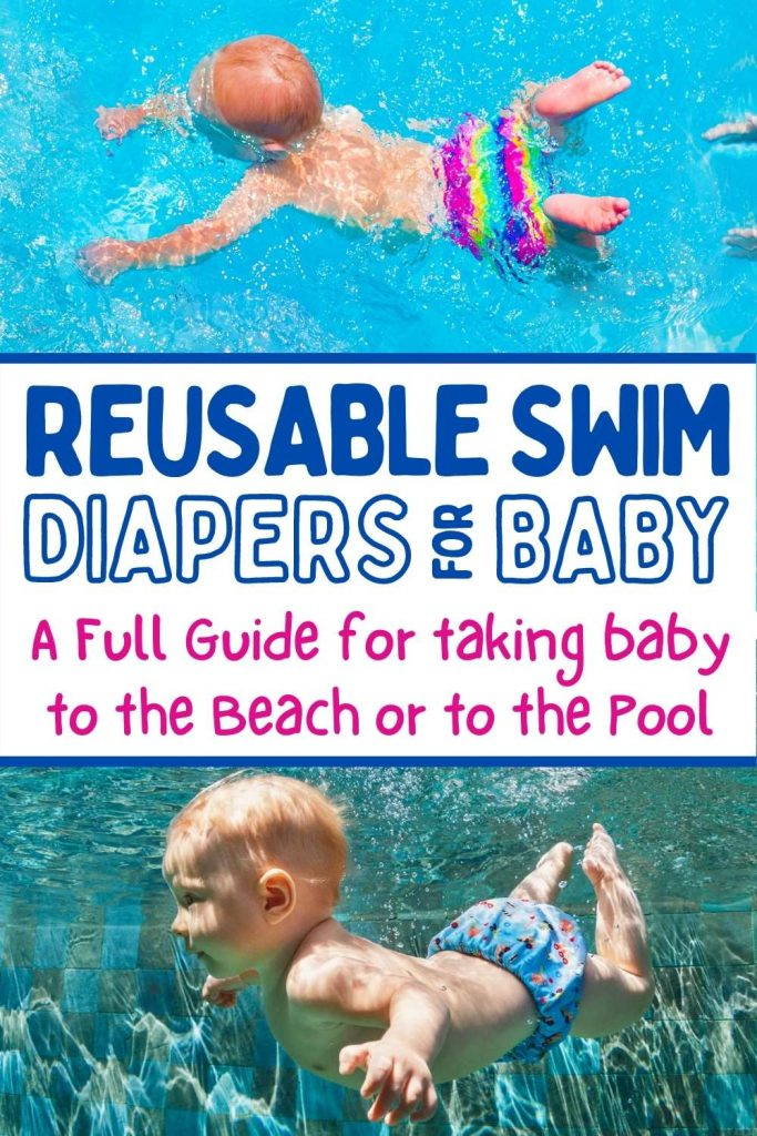 reusable swim diapers for baby