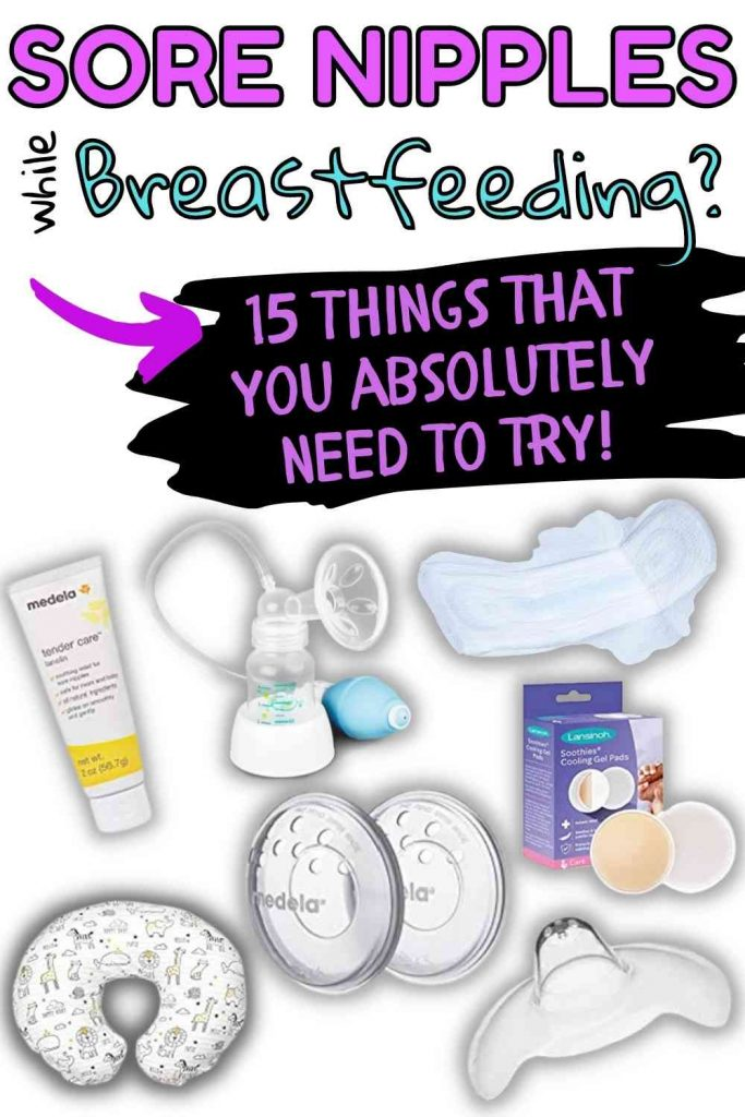 Tips for sore nipples while breastfeeding
