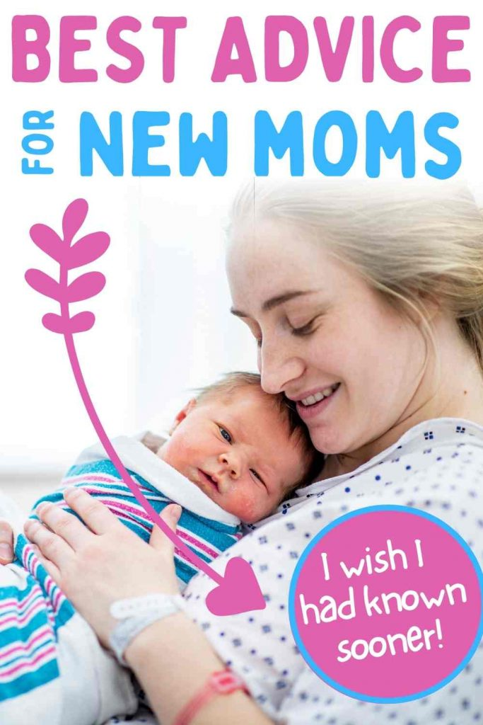 best advice for new moms