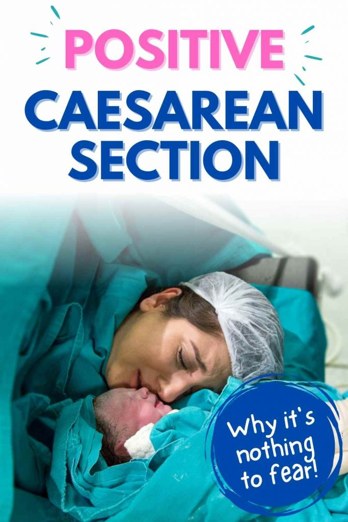 positive caesarian section
