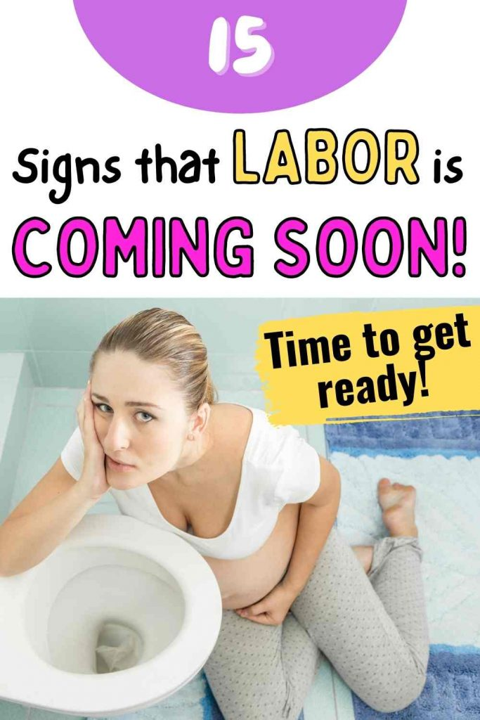 signs that labor is coming soon