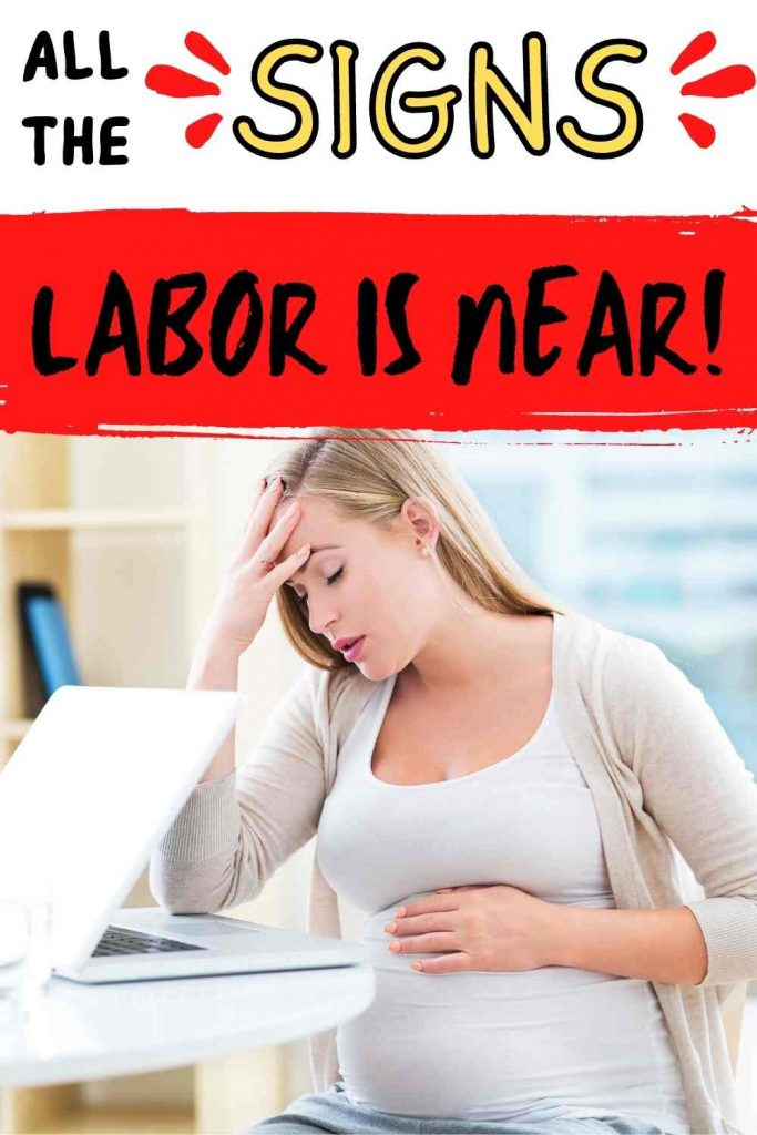all the signs that labor is 24 to 48 hours away