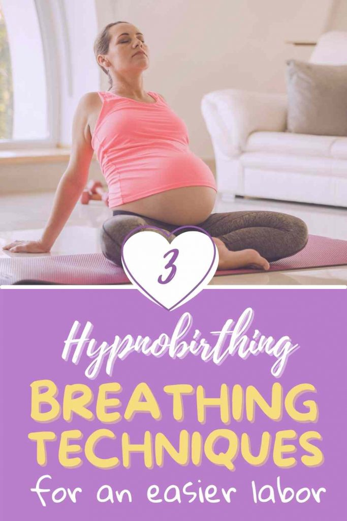 hypnobirthing breathing techniques
