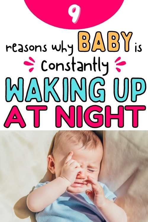 baby constantly waking up at night