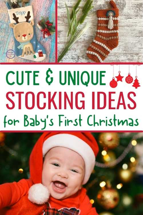 baby stockings for baby's first christmas