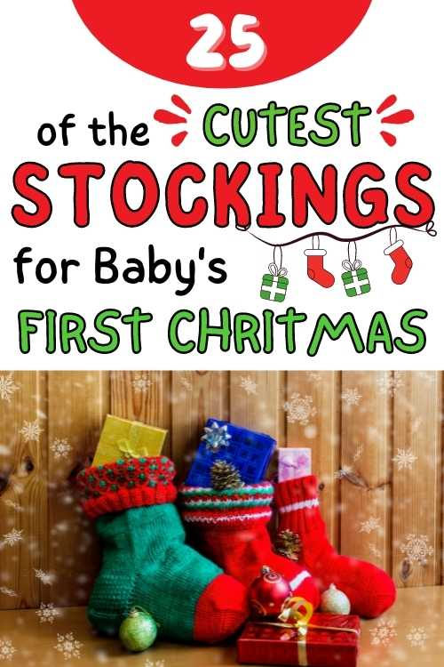 cutest christmas baby stockings