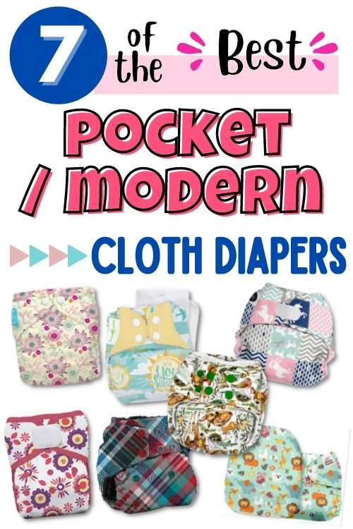 best pocket modern cloth diapers
