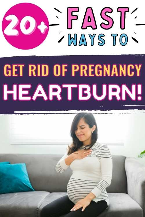 fast ways to get rid of heartburn during pregnancy