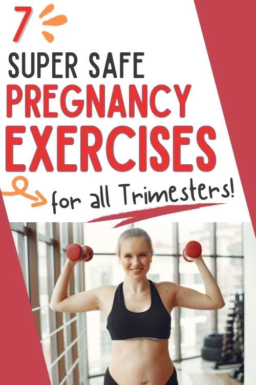 safe pregnancy exercises for all trimesters